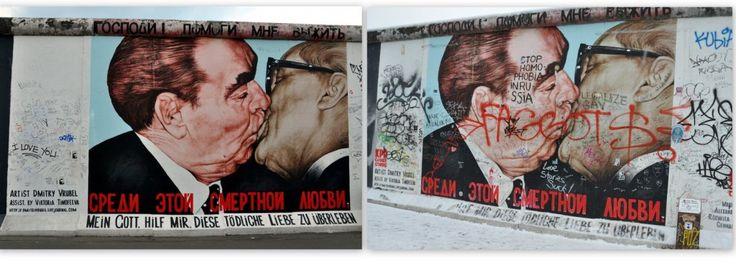 L'East Side Gallery à Berlin, un chef-d'oeuvre en péril