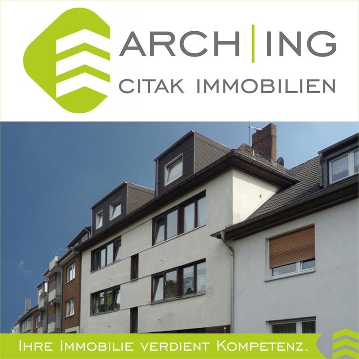 2 Zimmer Eigentumswohnung mit Küche, Diele, Bad und Loggia in Köln-Dellbrück.