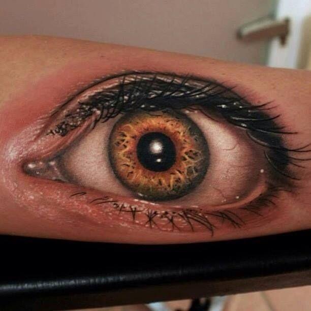 eye // 31 Incredible (And Slightly Creepy) Hyperrealistic Tattoos