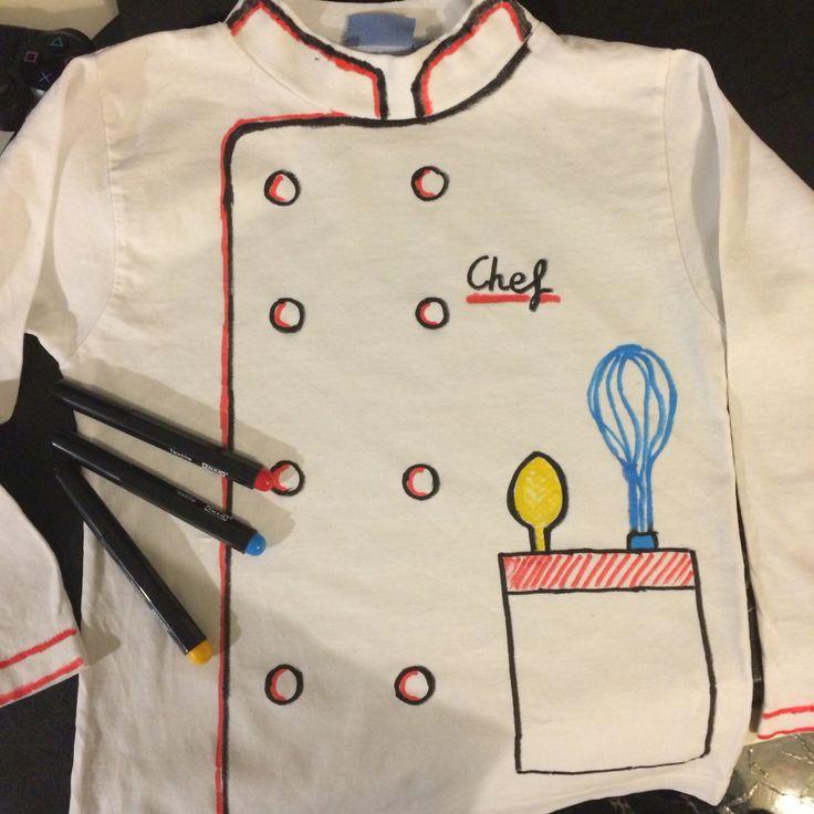 Las 25 mejores ideas sobre disfraz de cocinero en for Material para chef