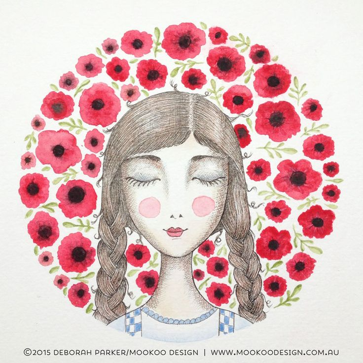 Week 1: Fairytale. Dorothy and the field of poppies by Mookoo Design