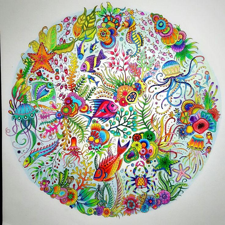 Lost Ocean Coloring Book Joanna BasfordColoring