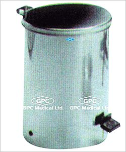 GPC Medical Ltd. - hospital clinical waste bins company from India. We are manufacturer, supplier & exporter of #clinicalwastebins. These clinical bins are constructed from ss with removable inner container of ss material.