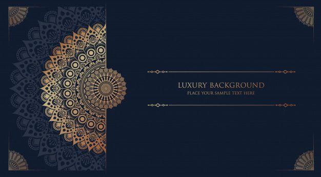 Luxury Mandala Islamic Background In 2020 Mandala Graphic