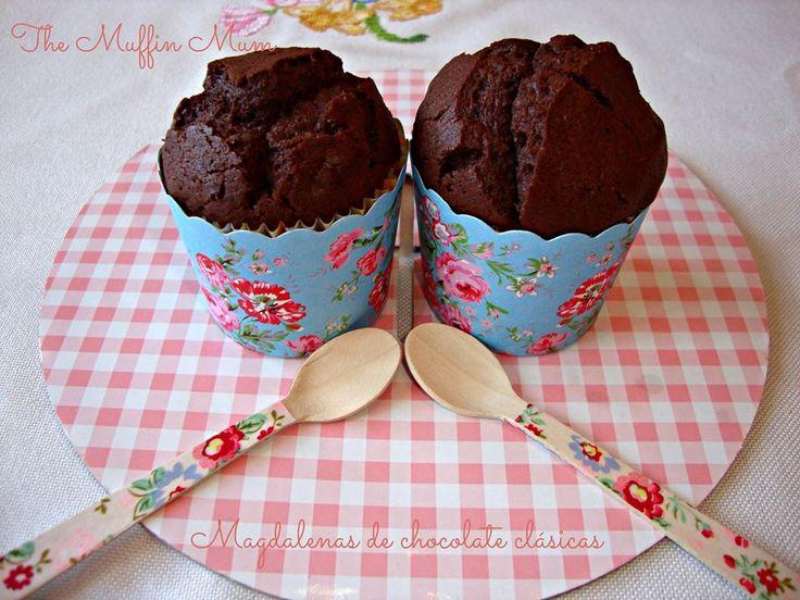 Mis cápsulas azules flores vintage y mis cucharitas de madera decoradas (flores) en el blog The muffin mum https://www.facebook.com/pages/The-muffin-mum