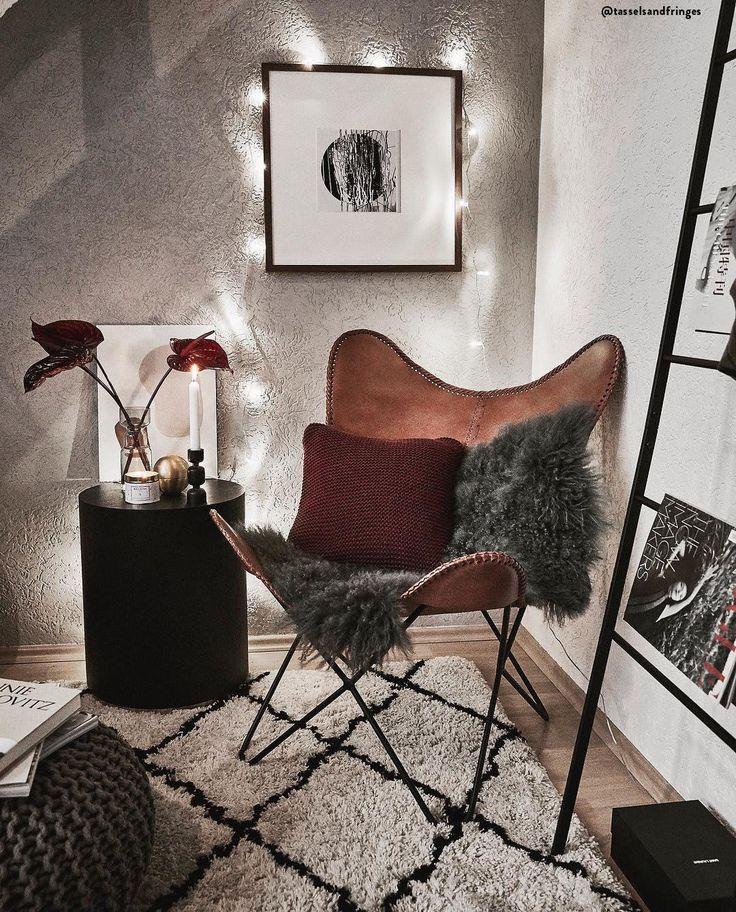 Leather armchair Brady
