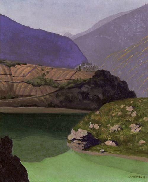Lac de Géronde à Sierre - Felix Vallotton 1919
