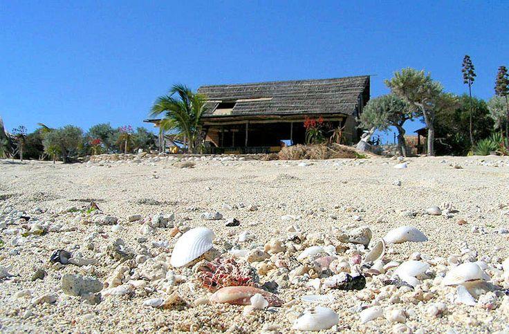 sur la plage d'Ananakao
