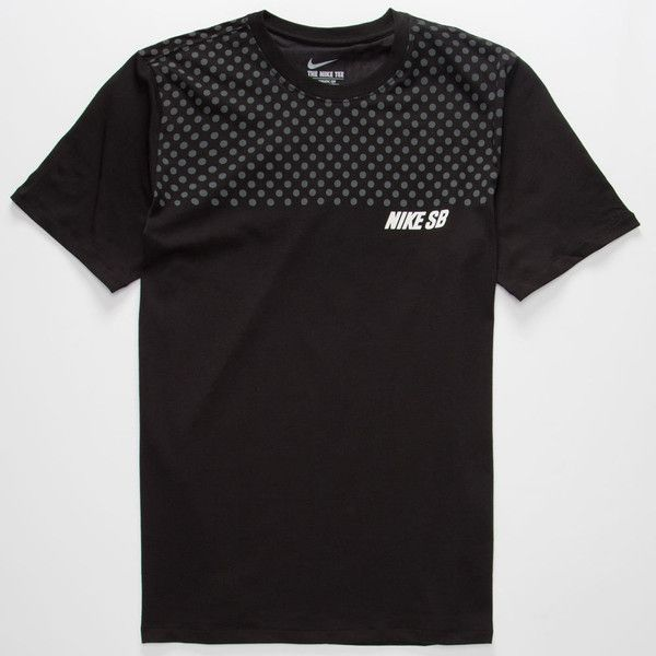 Nike SB Dri-FIT Polka Dot Mens T-Shirt (3715 RSD) ❤ liked on Polyvore featuring…