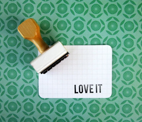 Love It Rubber Stamp