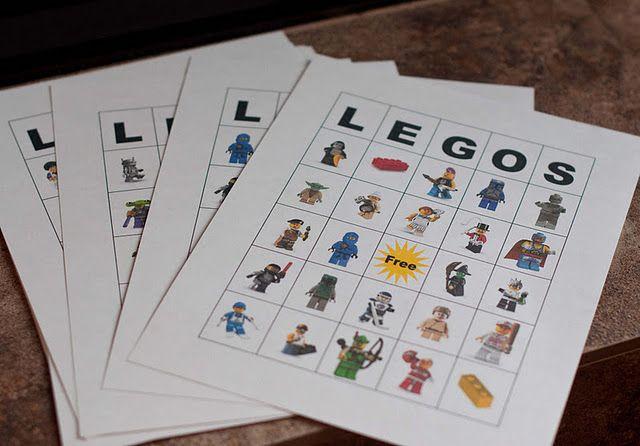 Lego bingo