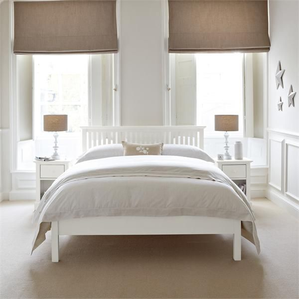 White Bedroom Furniture Set, our slate blue where the brown is.