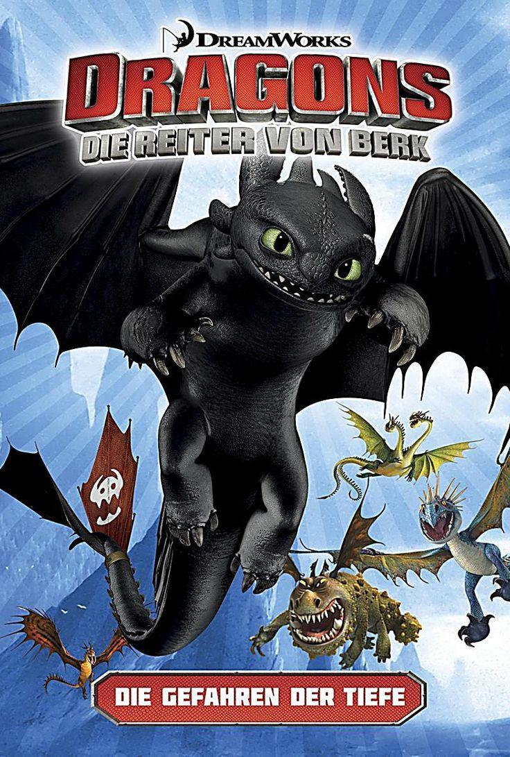 Die Gefahren der Tiefe Dragons - die Reiter von Berk Bd.2