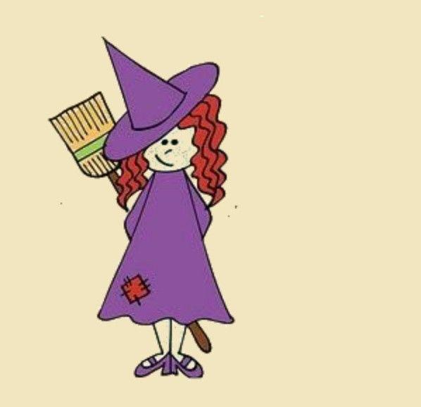 Pin De María En Brujitas Brujas