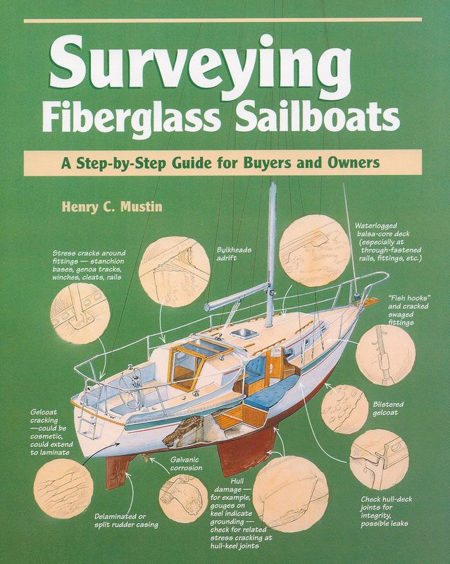 Surveying Fiberglass Sailboats A Step-by Step Guide for Buyers and Owners