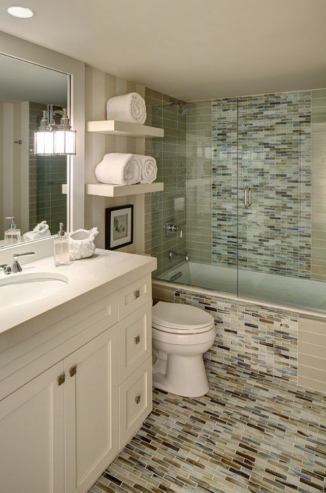 118 best bathrooms images on pinterest bathroom for Great bathroom ideas for small spaces