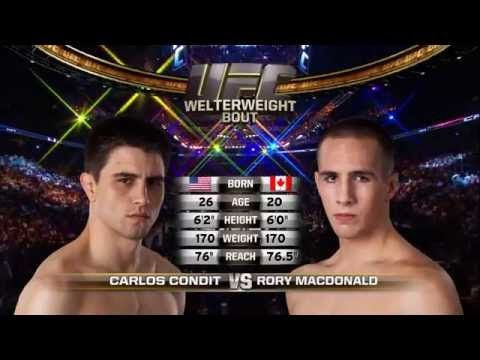 UFC (Ultimate Fighting Championship): Fight Night Vancouver Free Fight: Carlos Condit vs Rory MacDonald