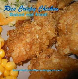 rice crispy baked chicken: Brown Rice, Recipe, Rice Crispy, Baking Chicken, Fried Chicken, Fries Crispy, Crispy Chicken, Chicken Breast, Rice Krispie