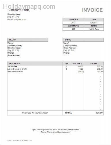 7 best business form samples images on Pinterest Ale, Beer and - best of 7 billing statement sample