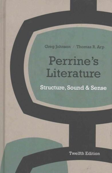 Perrine's Literature: Structure, Sound, and Sense: Includes 2016 MLA Handbook Update Card