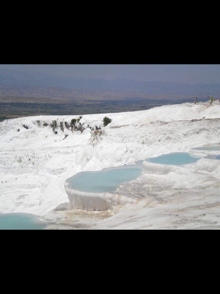 Pammukale open air spa Unesco Heritage Turkey