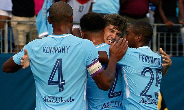 Man City 3-0 Spurs: John Stones and Raheem Sterling score