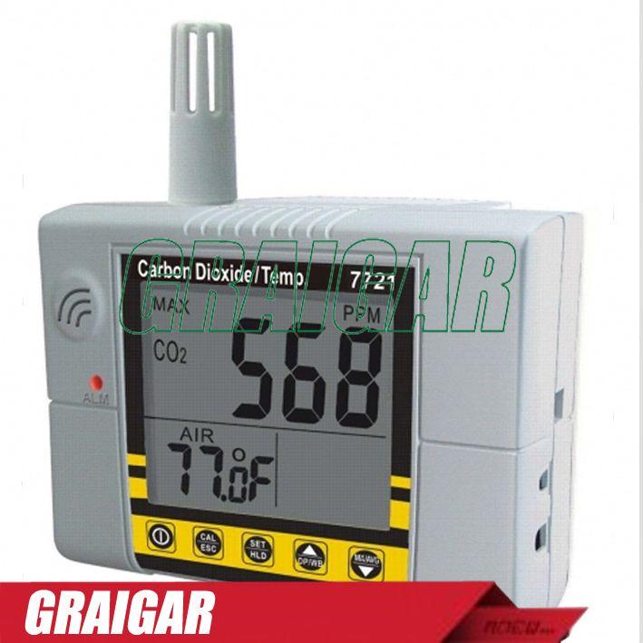 AZ7721 wall carbon dioxide detector, carbon dioxide gas detector