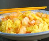 One Perfect Bite: Shrimp Omelet from the Pearl River Delta - Pink Saturday