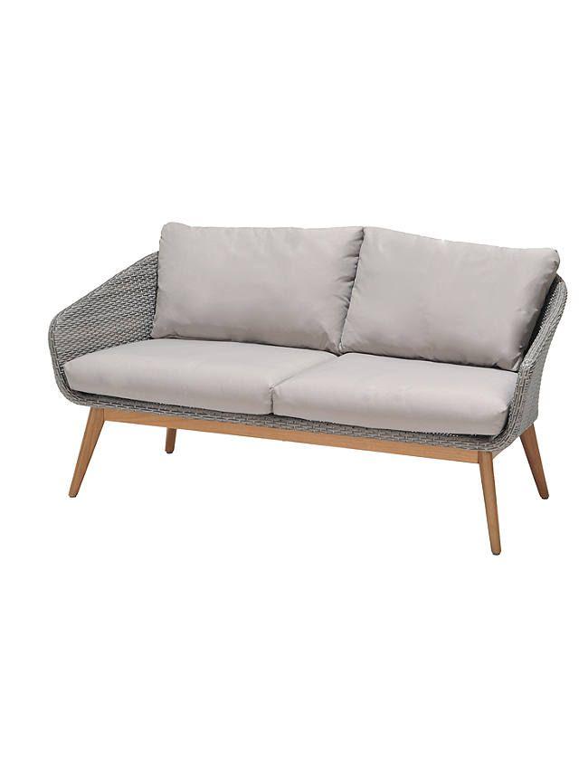 John Lewis Partners Bergen 2 Seater Garden Sofa Fsc Certified