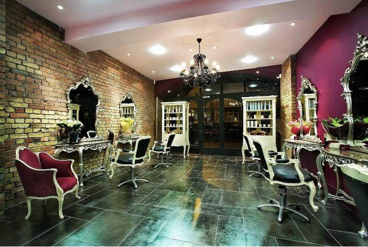 Charlotte murray is a unique hair salon in the heart of - Decoration salon style romantique ...