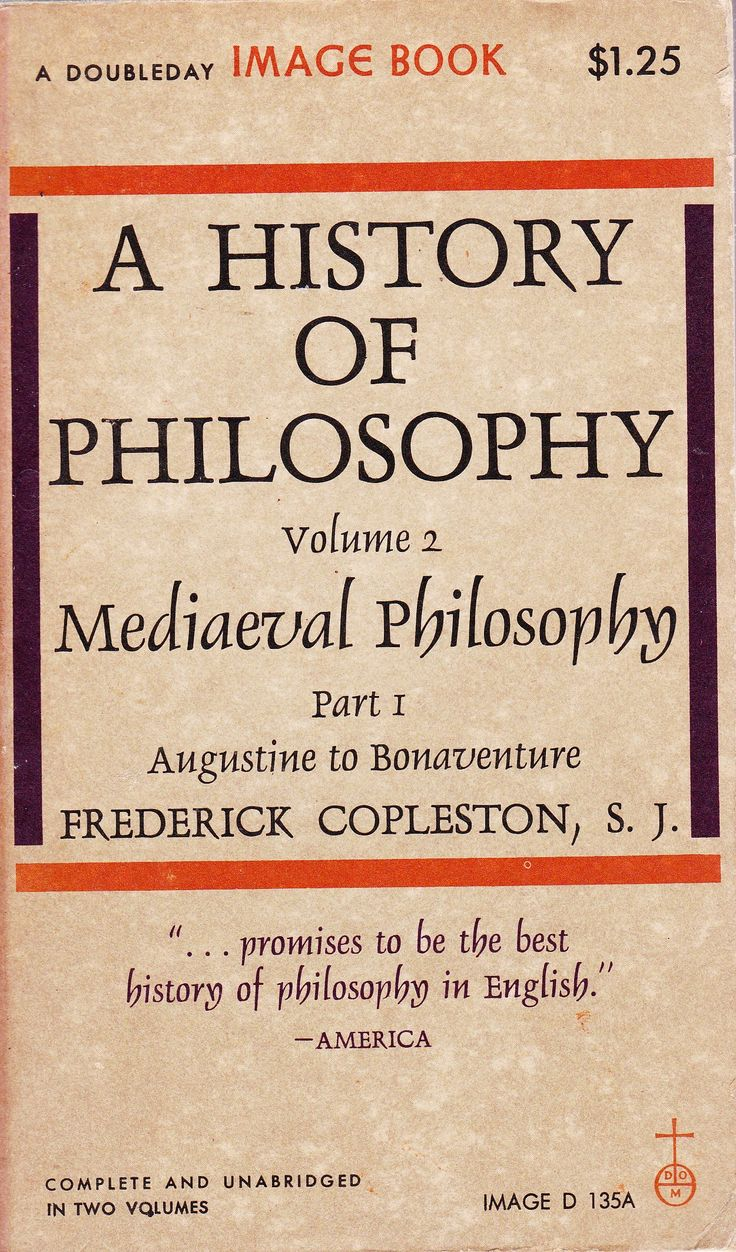 Frederick Copleston | A History of Philosophy, Vol. 2: Medieval Philosophy - From Augustine to Duns Scotus (1946–1975)