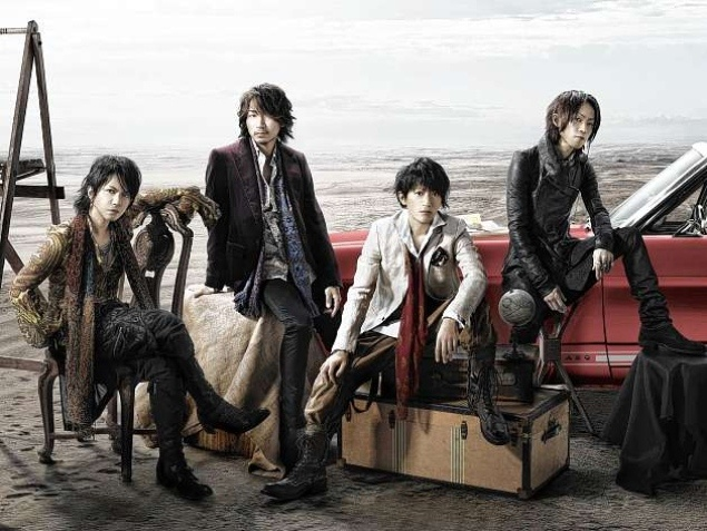 L'Arc~en~Ciel. First Japanese band to ever headline Madison Square Garden (March 25, 2012)
