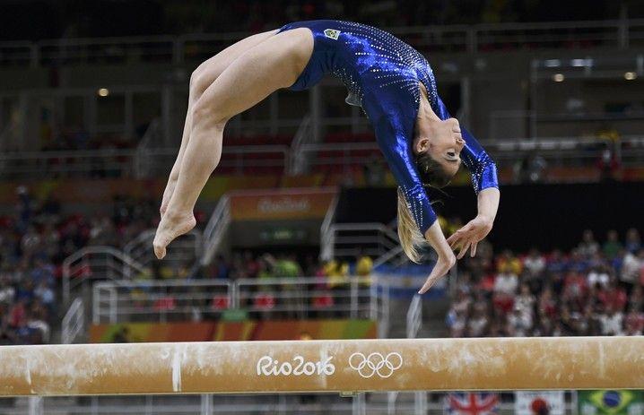 Daniele Hypolito ginástica artística final equipes Olimpíada Rio 2016