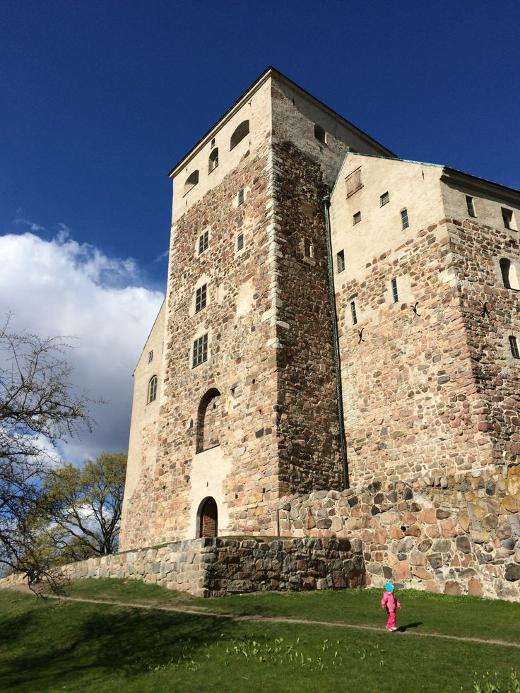 Turku castle is one of the most beautiful castles in Finland.