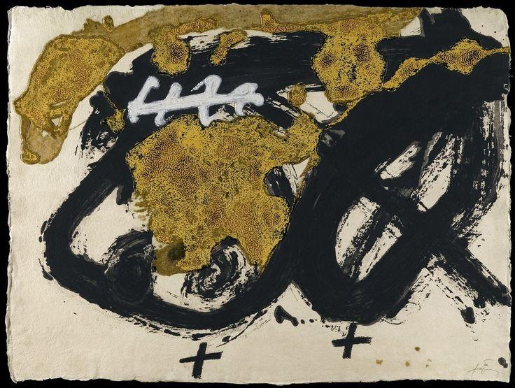 """Antoni Tàpies """"Formes i Vernis"""" Grabado al Aguafuerte, Aguatinta, Carborundum, Barniz, Pintura Blanca y Relieve Año: 1986 Dimensiones: 96 x 128.5 cm Edición de 99 ejemplares Numerado PA y firmado a mano Galfetti 1065 Precio: Consultar Web  Web: www.grabados-chillida.com Más información y consultas: grabados-chillida@grabados-chillida.com"""