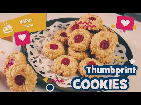 Kue Lebaran 2020 Thumbprint Cookies Buat Suguhan Lebaran Youtube Suguhan Resep Kue Kue