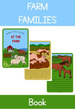 This is a short eight page, A4 book (in both color and black and white) that uses a simple story about animals on the farm to introduce students to the collective, male, female and baby names for 7 different farm animals. The color version would be good to read with a group of students whilst studying a unit about the farm.