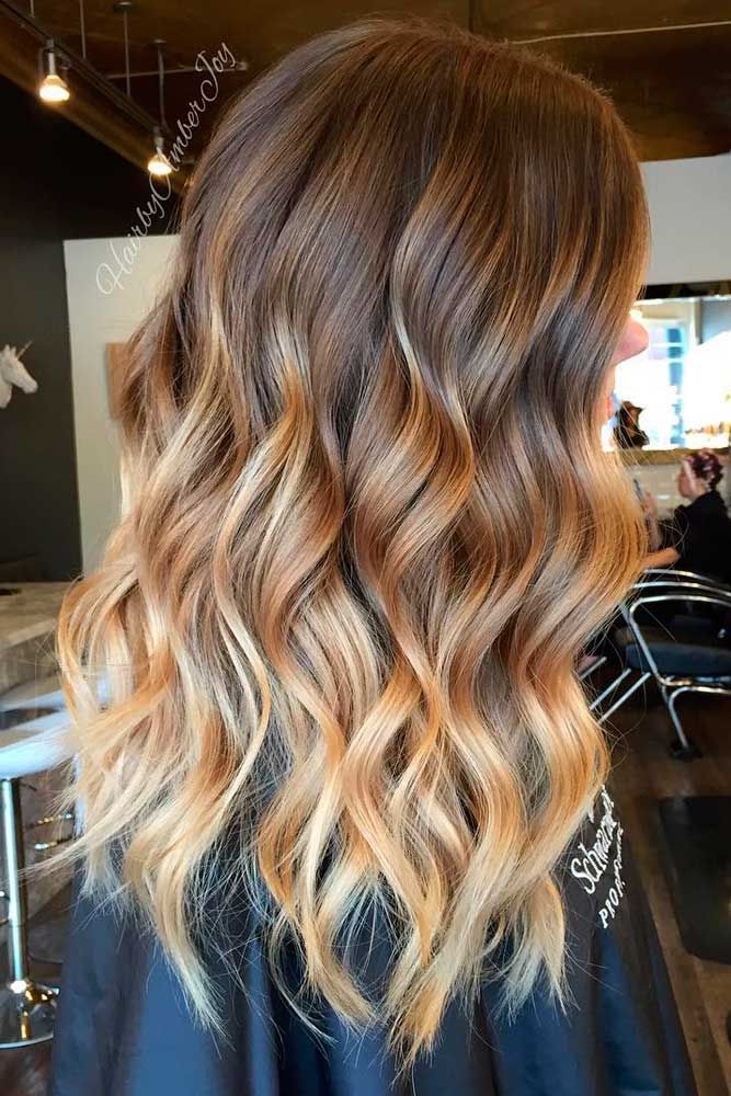Best 25 brown ombre hair ideas on pinterest ombre brown balayage straight hair and brunette - Ombre braun blond ...