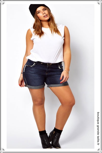 1000 images about short grande taille femme on pinterest long shorts coupe and shorts. Black Bedroom Furniture Sets. Home Design Ideas