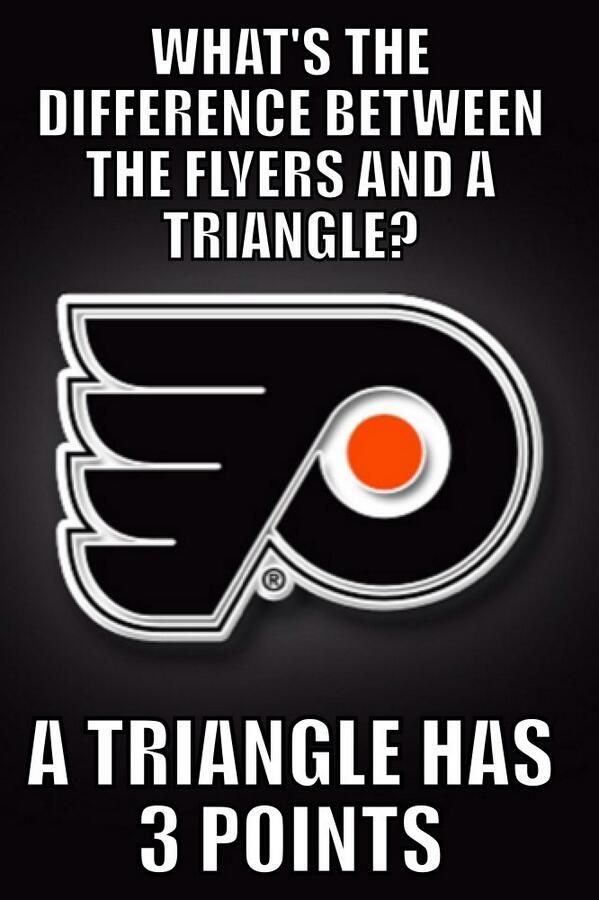 The Flyers are having a bad start in 2013 -- 3 pts
