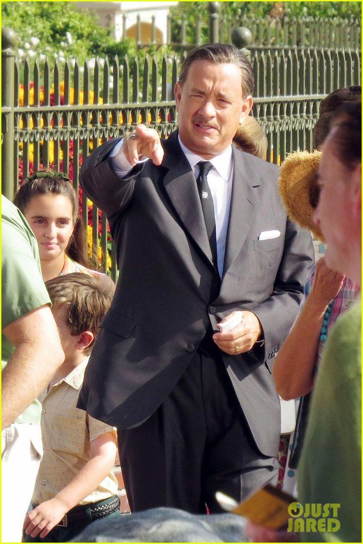 Tom Hanks as Walt Disney in 'Saving Mr. Banks' - First Look! | tom hanks as walt disney in saving mr banks first look 01 - Photo