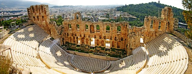 ATHENS:- The greatest and finest sanctuary of ancient Athens, dedicated primarily to its patron, the goddess Athena, dominates the centre of the modern city from the rocky crag known as the Acropolis The Greek capital is Athens which is a city of contradictions.