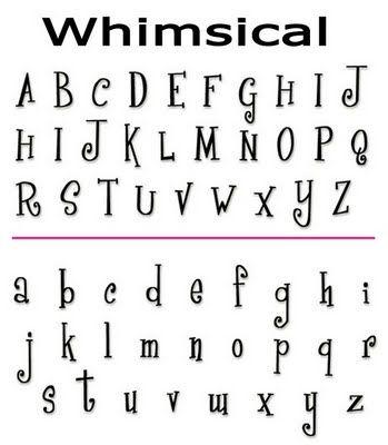 Cool Alphabet Fonts Google Search Pinterest