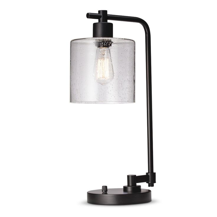 threshold seeded glass edison table lamp - Table Lamps Target