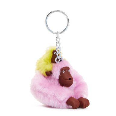 Small Sven & Baby Monkey Keychain - 549