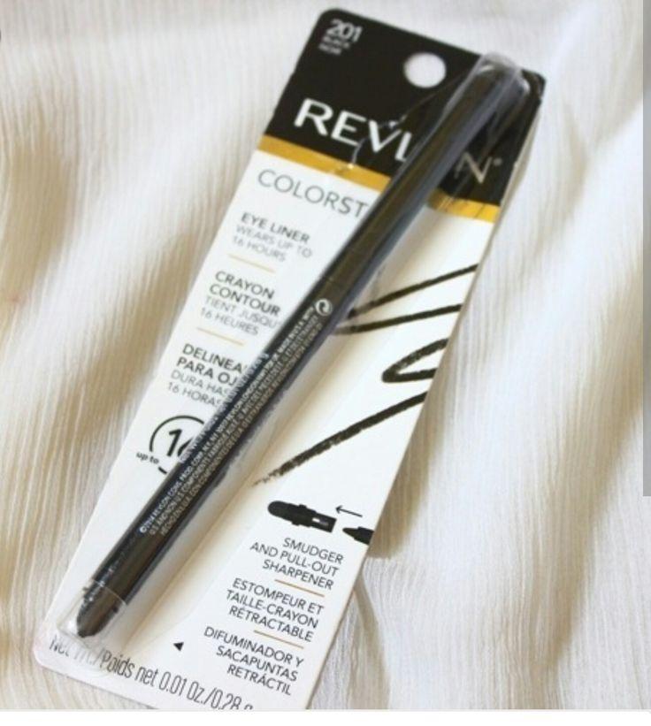 #colorstay #Revlon #eyeliner #black  One of my favorite eye liners