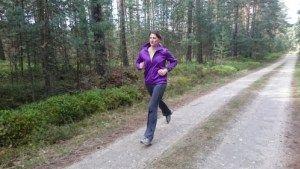 [Tagebucheintrag Jule & Claudi] Claudi zu Besuch in Zeischa April 17  #laufen, #joggen, #fitness, Spaß beim Laufen