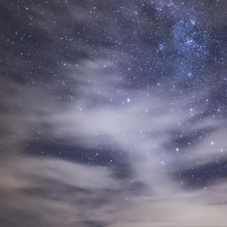 Winter Sky; Cajón del Maipo; Chile. #night