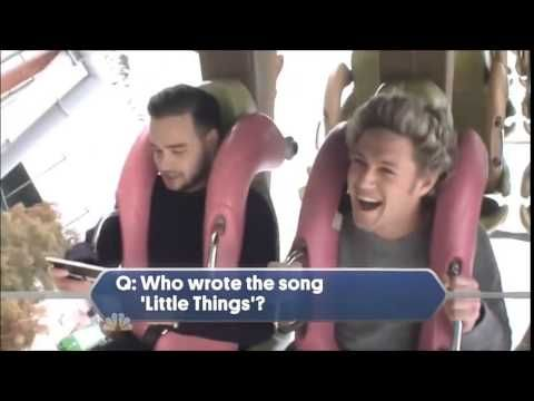 """This is so funny """"I don't know! Too many!"""" """"Look at my hair, look at my hair!"""" """"I hate roller coasters!"""""""