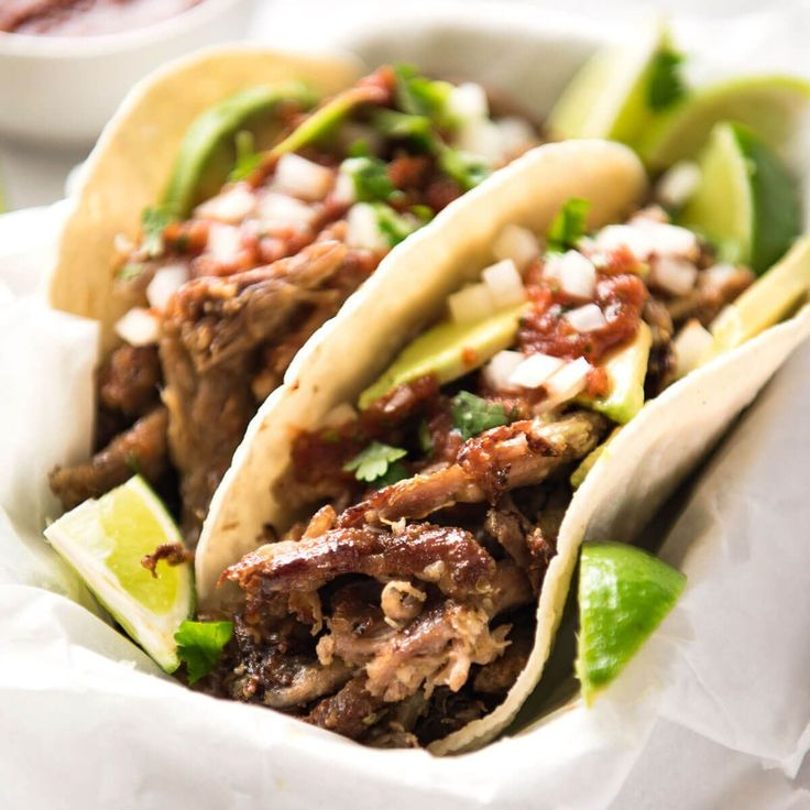Mexican Pulled Pork Tacos - the juiciest, easiest, most flavoursome Pork Carnitas you will ever make! www.recipetineats.com